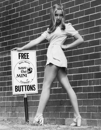 Мини юбки 70-х